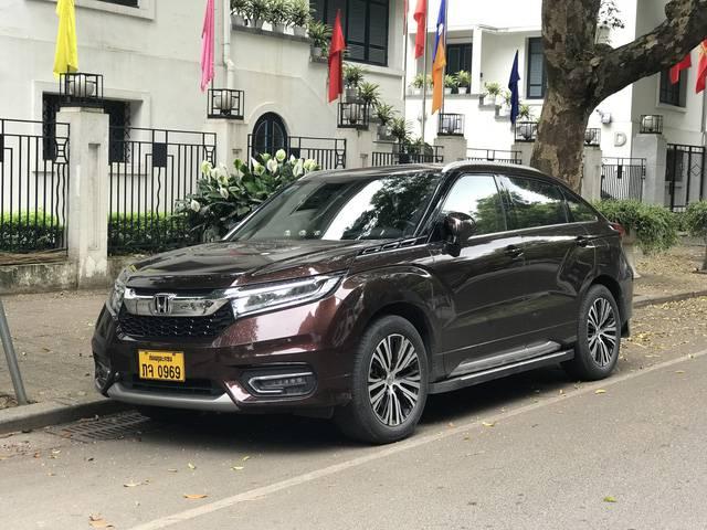 Xế lạ của Honda bất ngờ xuất hiện trên đường phố Hà Nội: 5 chỗ ngồi, đàn anh của CR-V - Ảnh 1.